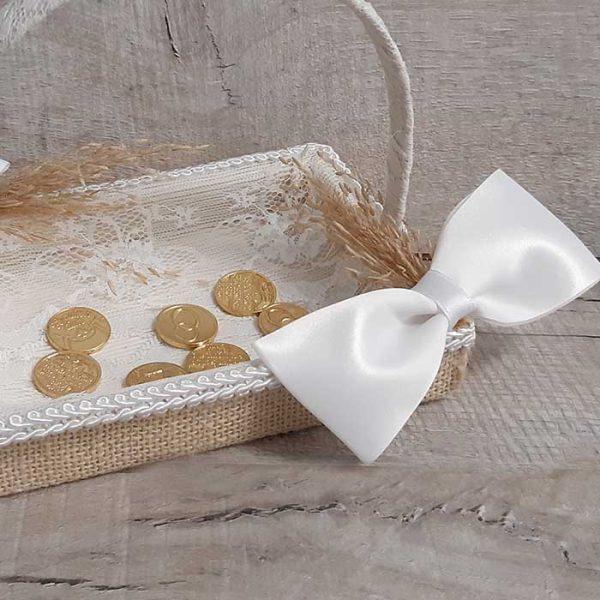Bandeja para llevar las arras de boda