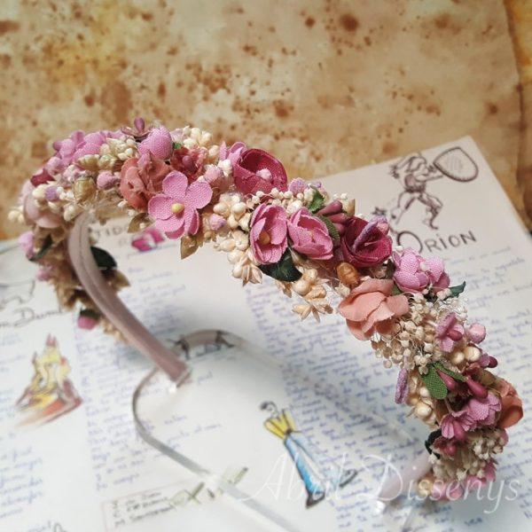 Diadema de Flores Fusión