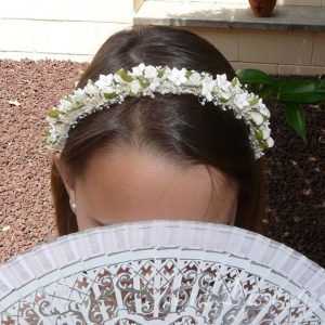 Diadema flores pitiminí