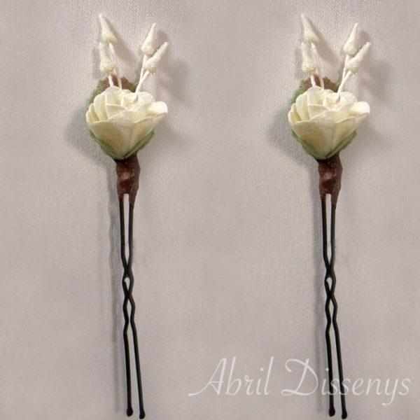 Horquilla flor Campanilla