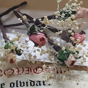Pin pelo flor Capullitos