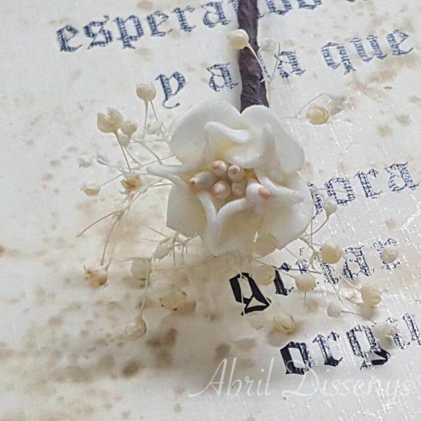 Pin pelo paniculata flor azahar