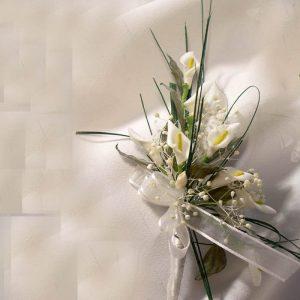 Pulsera flor seca y calas Sandra