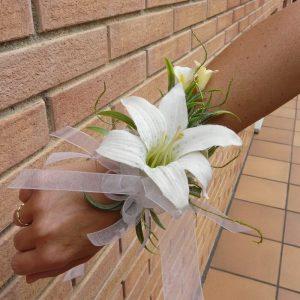 Pulsera flores lilium y calas