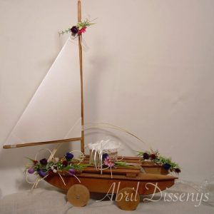 Barco porta alianzas arras