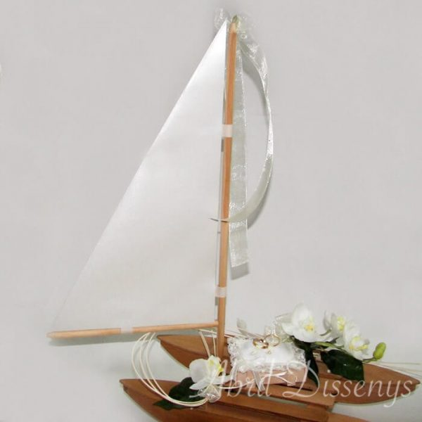 Barco porta arras y alianzas