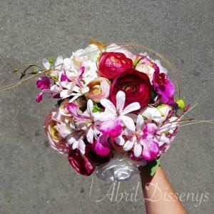 Ramo novia flores orquídea