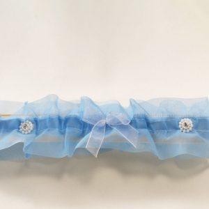 Liga azul dos brillantes y tres lazos