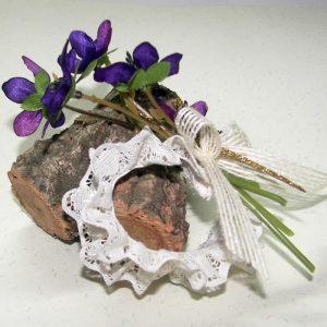 Pulsera flores elástica