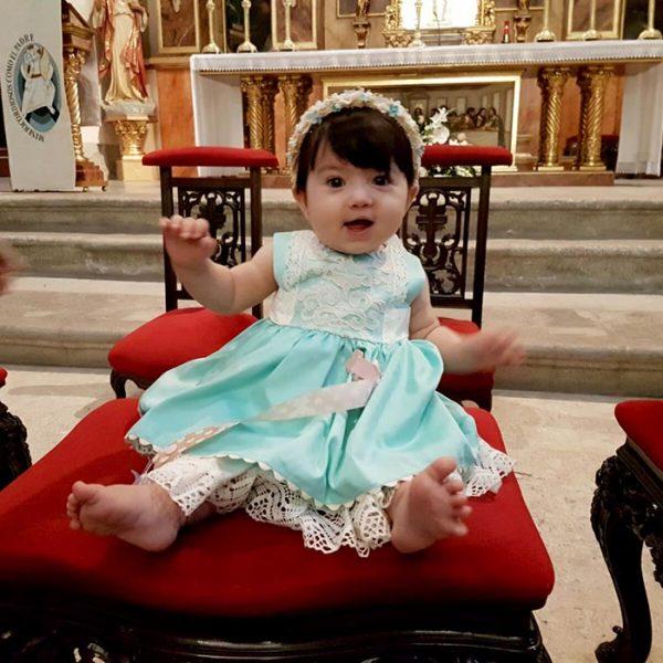 Diadema para bautizos y celebraciones
