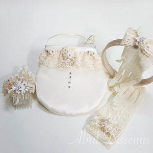 Set de accesorios niña de comunión Elia