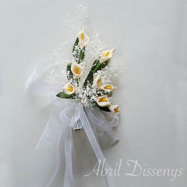 Flores decorar un pergamino con poesía Sandra