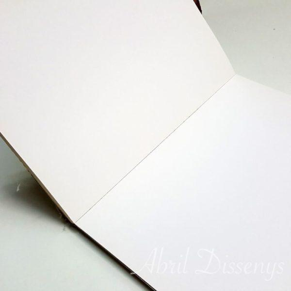 Libro de notas personalizado con foto 8 x 12 cm