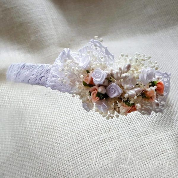 Diadema flores mini y paniculata