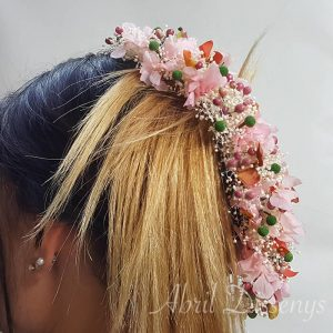 Media corona flor de pimienta