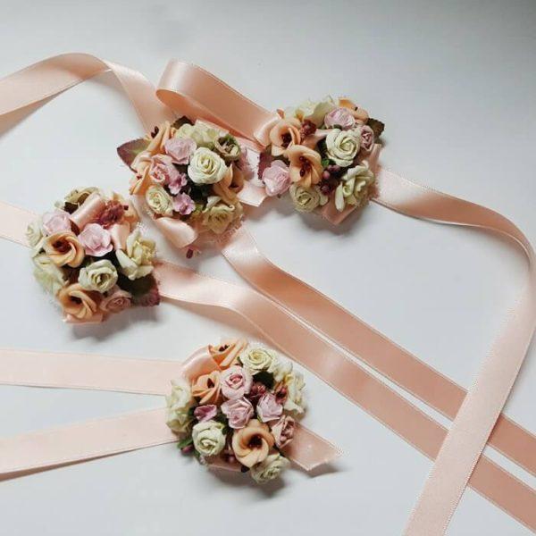 Pulsera flores bouquet