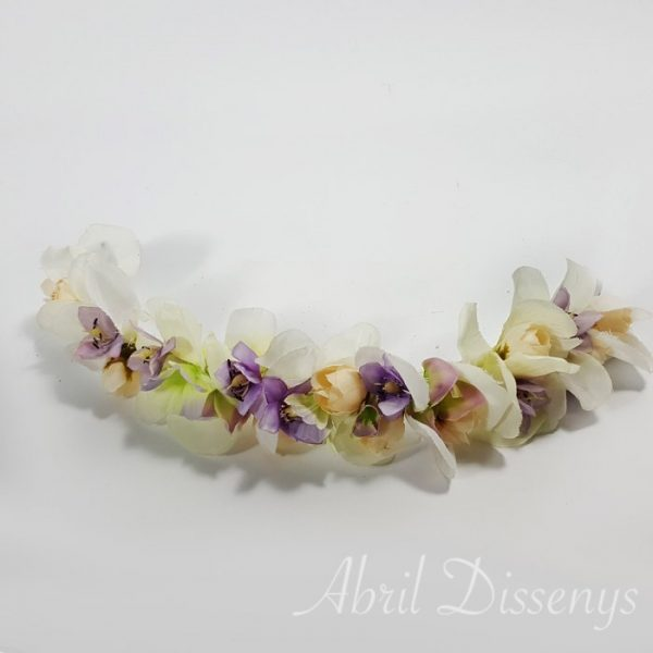 Cintura flores y pétalos 46 x 5