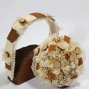 Conjunto diadema y bouquet