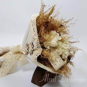 Bouquet flor seca liofilizada Collage