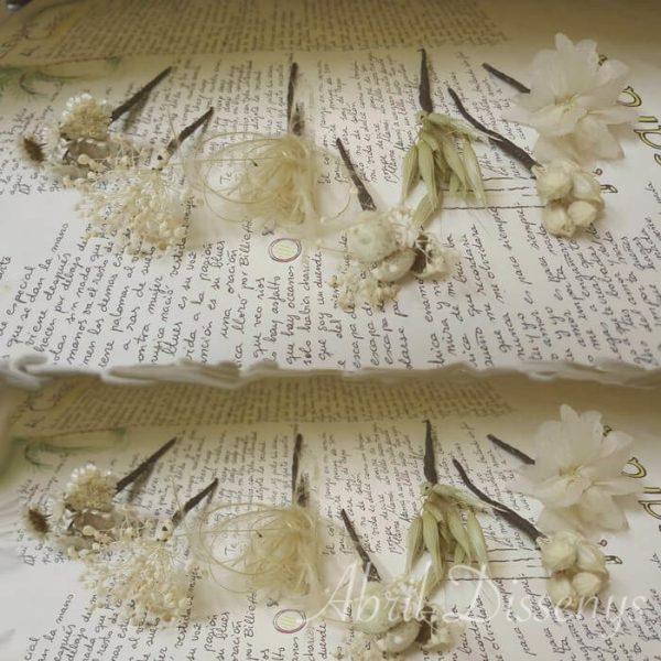 Pin pelo surtido flores secas