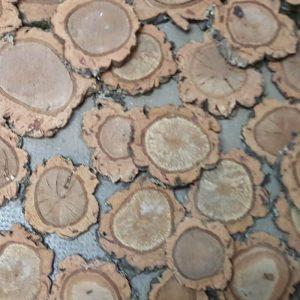 Rodajas marcasitios mesa 9-10 diámetro