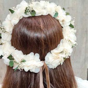 Corona de hortensia Laura