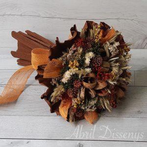 Bouquet grande de flor seca