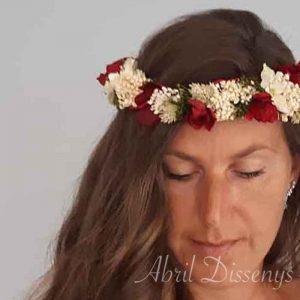 Coronas Flores Novia