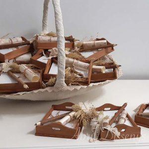 Set de 15 detalles para invitados con cesta incluida
