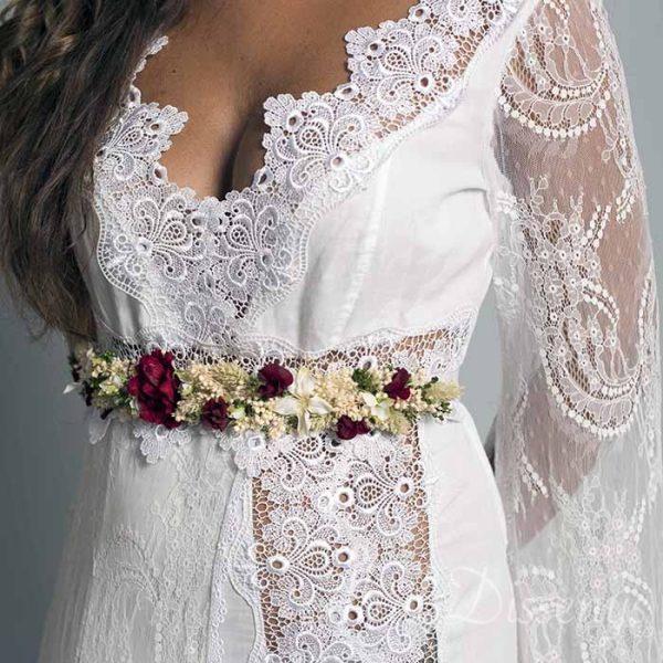 Cinturón cerezas para novias y invitadas