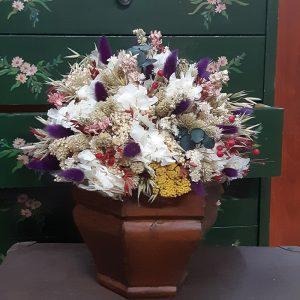 Centros de Flores Secas y Preservadas