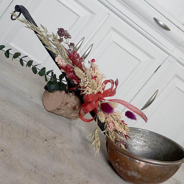 Cucharon Antiguo con Flores