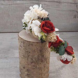Diademas con Flores Secas