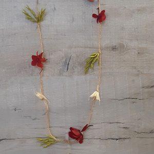 Guirnaldas de Flores Secas y Preservadas