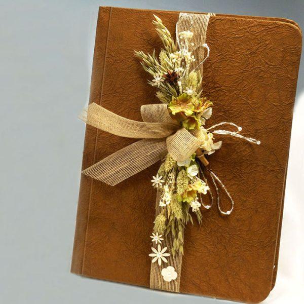 Libro Grande para Firmas en Eventos Chocolate