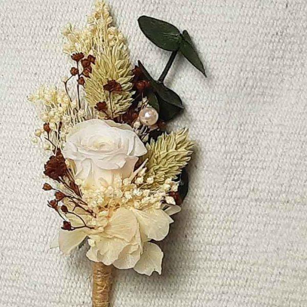 Flores para la solapa del novio