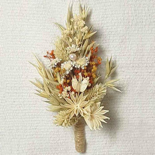 Solapa para el Novio Flor Glixia