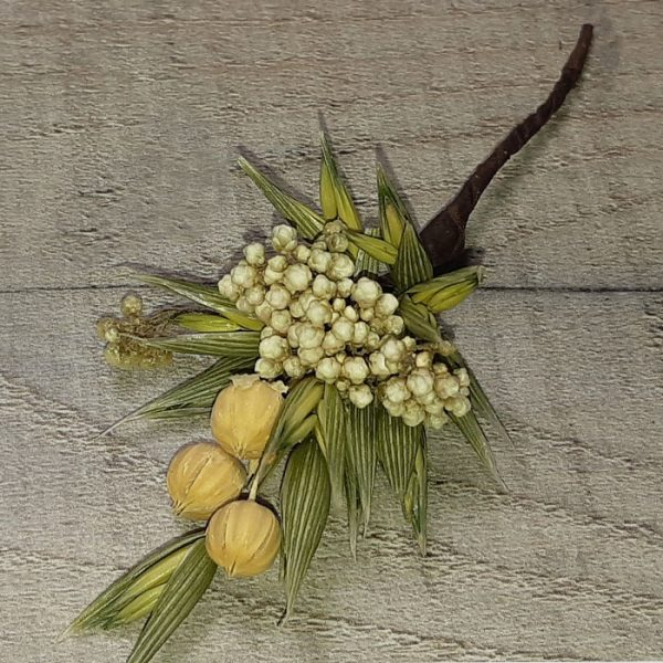 Pin de Pelo Flor Natural