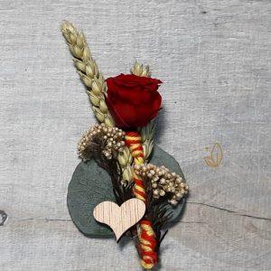 Alfiler con Rosa de Sant Jordi