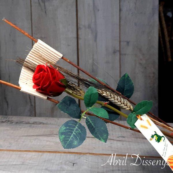 Comprar Ramo con Dos Rosas Sant Jordi