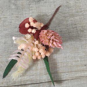 Pins de Flores Mini Pelo